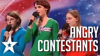Download Acts With Attitude: 5 Angriest Contestants on Got Talent Mp3 and Videos