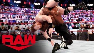 Bobby Lashley vs. Sheamus: Raw, Mar. 22, 2021
