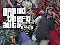 GTA 5 Online Multiplayer Funny Moments!  (Crazy Bike Plane, Sportsball, Fails, and More!!)
