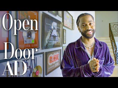 Inside Big Sean's Beverly Hills Mansion With A Nightclub | Open Door | Architectural Digest