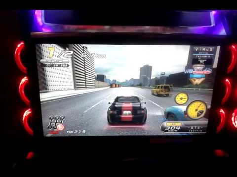 Wangan Midnight Maximum Tune 5DX - Osaka area (Crown)ghost battle #12