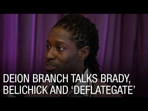 Deion Branch Talks Brady, Belichick and