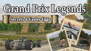 Grand Prix Legends - Secrets & Easter Eggs