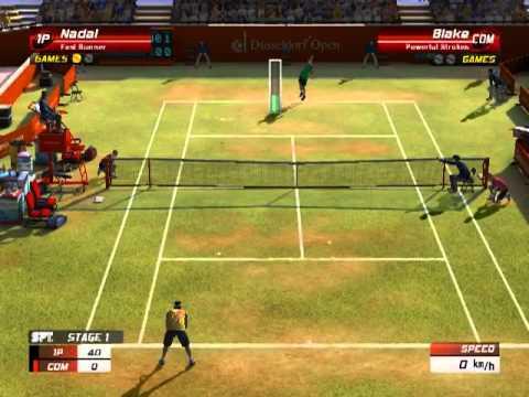 Virtua Tennis 3 Tamil Gameplay