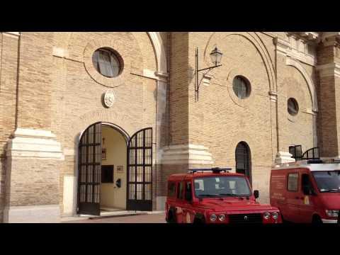 Città del vaticano - Cortile Belvedere -Vatican City - Belvedere Courtyard
