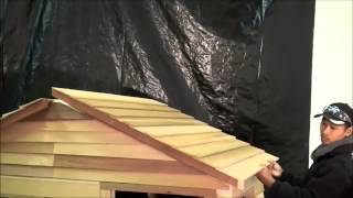 Cedarshed Playhouse Assembly Example From Living Outfitters