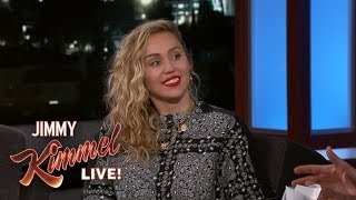 Miley Cyrus on Smoking Pot & Liam Hemsworth Scaring Her