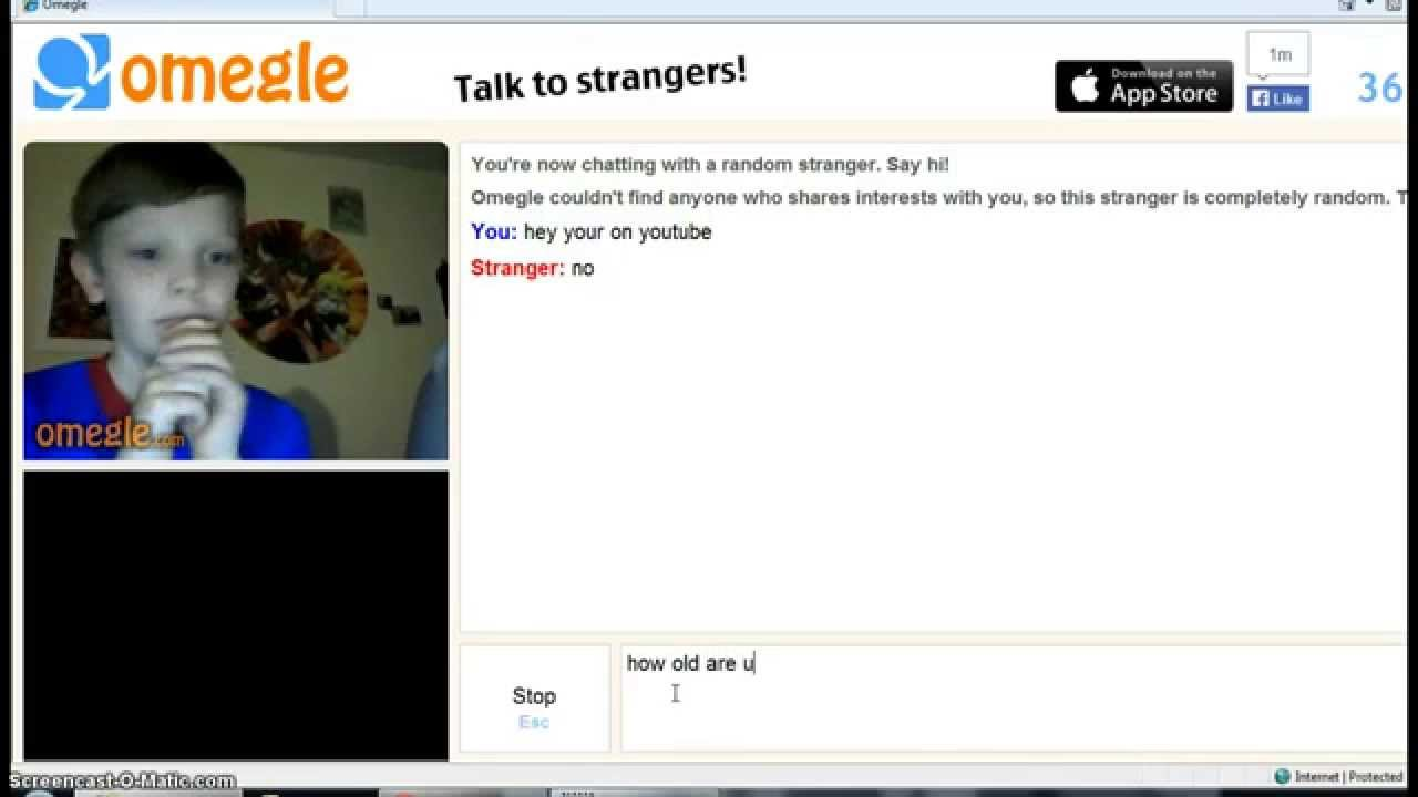omegle with little kids !!