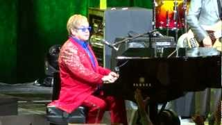 Elton John Live 2013 =] Crocodile Rock [= Houston, Tx - Toyota Center - 3/28