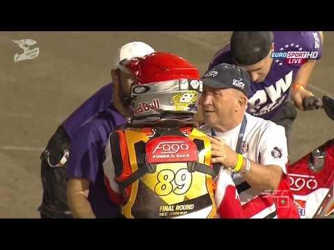 Emil Sayfutdinov won 14 race and became the Champion of Europe 2015. Speedway European Championship