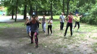 урок NIA Kissing 23 06 13 на Белом озере с Яной Передерниной