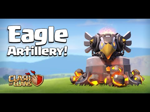 Clash Of Clans Eagle Artillery New Defense Gameplay Town Hall  Update