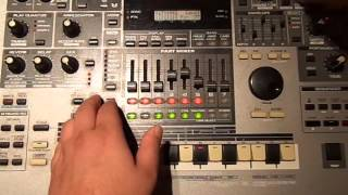 Roland mc-505 Deep House\Detroit Techno