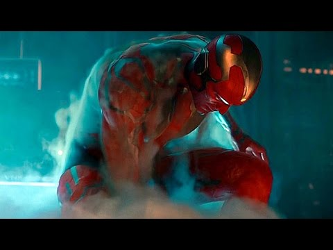 Creating Vision - Captain America vs Tony Stark - Fight Scene - Age of Ultron - Movie CLIP HD