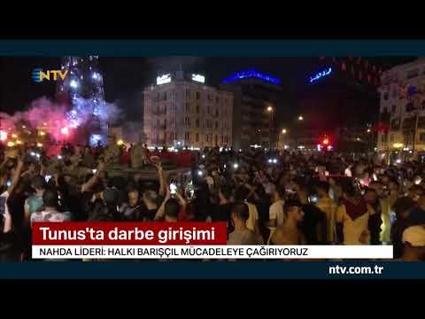 NTV | Tunus'ta siyasi kriz