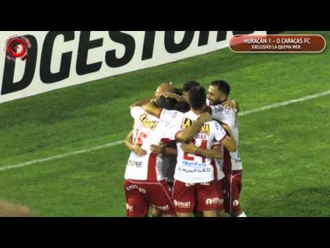 Gol de Huracan ante caracas F. C. - Mariano González - www.laquemaweb.com.ar