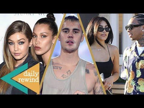 Gigi & Bella Hadid Mad at Mom? Tyga's New Kim Kardashian Lookalike Girlfriend, Bieber's New Boo -DR