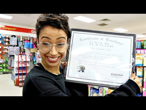 I GRADUATED FOR FREE! DOLLAR STORE WITH LIZA PART 3! - Liza Koshy