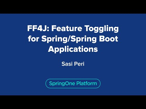 FF4J: Feature Toggling for Spring/Spring Boot Applications