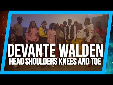Devanté Walden Choreography | K.I.G. - Head Shoulders Kneez & Toe | @OrokanaWorld