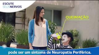 De fibra mãos neuropatia frias pequena