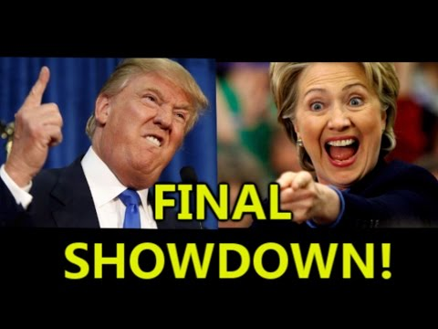 Trump vs Clinton: The FINAL showdown!
