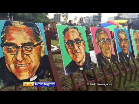 Sainthood for Archbishop Oscar Romero - ENN 2018-03-07
