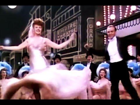 Rita Hayworth  &                  Hermes Pan                                'On the Gay White Way'