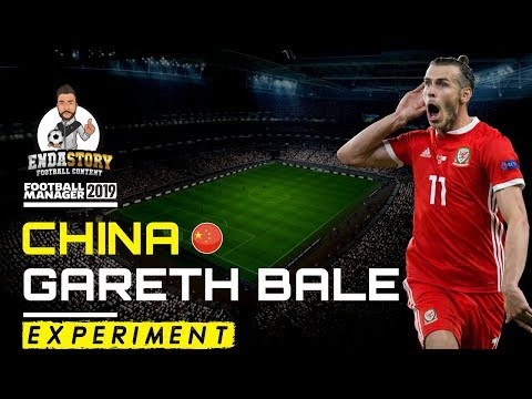 Gareth Bale in China - Football Manager Experiment - FM19