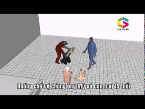 Video Mô phỏng vụ thảm án 6 người chết ở Bình Phước