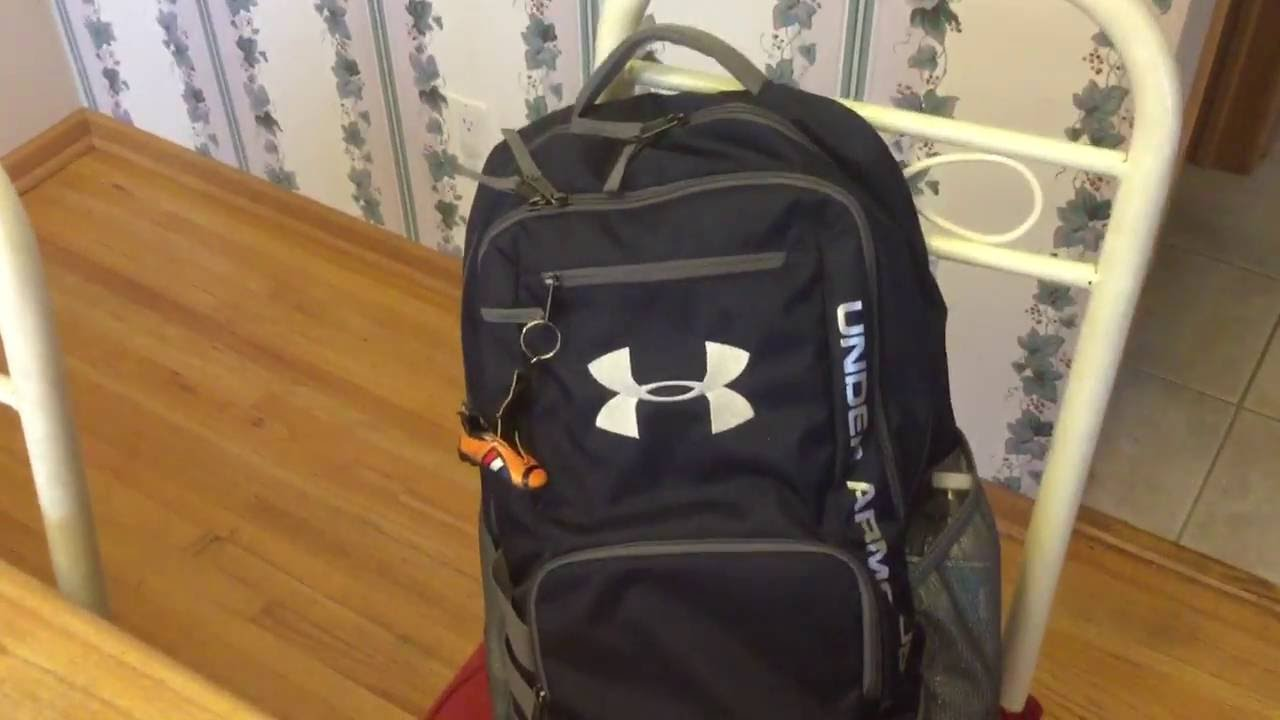 c2d7780ba UNDER ARMOUR STORM SERIES HUSTLE BACKPACK REVIEW - BEST SCHOOL BACKPACK