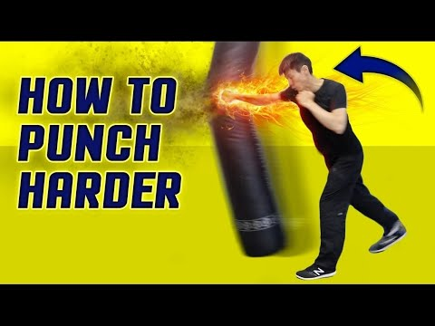 Thumbnail: How to Punch HARDER & Throw Execute a Knockout Punch Correctly