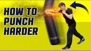How to Punch HARDER & Throw Execute a Knockout Punch Correctly