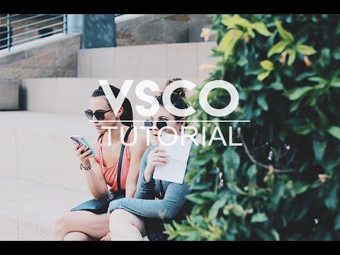 BEST VSCO EDITING TUTORIAL EVER!!!