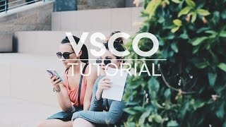 BEST VSCO EDITING TUTORIAL EVER!!!