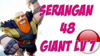vuclip Serangan 48 Giant Max - Clash Of Clans - Part 12 Indonesia