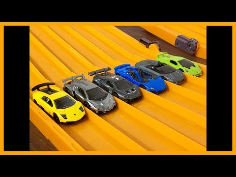 RACE: LAMBORGHINI HYPER CAR SPECIAL , Series 6, Race 6 - Hot Wheels