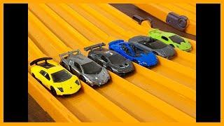 RACE HOT WHEELS LAMBORGHINI RACE Series 6 Race 6 Hot Wheels