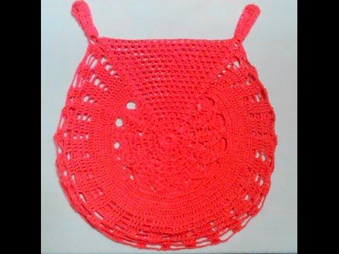 [ Crochet sweater summer for baby] HƯỚNG DẪN MÓC ÁO LEN MÙA HÈ CHO BÉ GÁI : KIỂU 1
