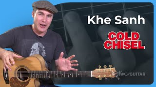 How to play Khe Sanh by Cold Chisel - Guitar Lesson Tutorial Aussie Classic Rock SB-501