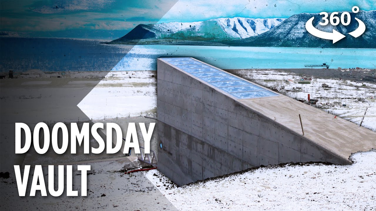 Inside The Arctic Doomsday Seed Vault For The First Time 360