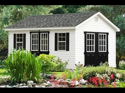10x16 Gable Storage Shed Plans Blueprints For Building A Large Shed – Garden Shed Plans 10 X 16