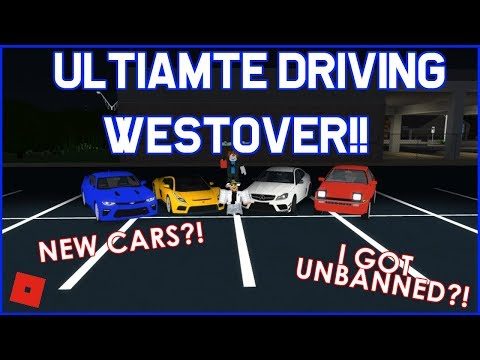 NEW CARS?!?! || ROBLOX - Ultimate Driving Westover Islands