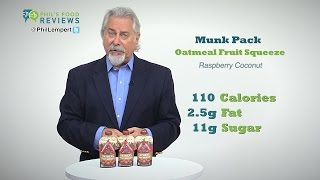 Munk Pack Oatmeal Fruit Squeeze Raspberry Coconut 9/3