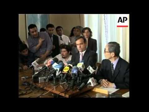 Fujimori's lawyer on his client's arrest