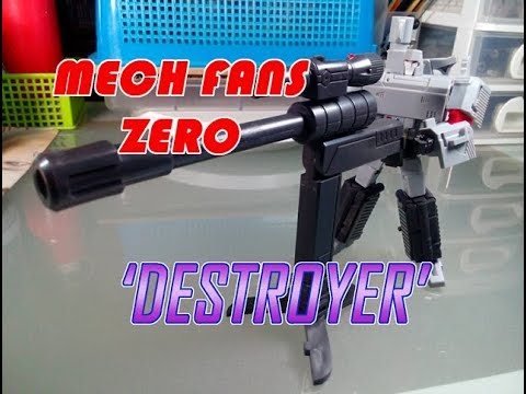 "mech fans - zero ""DESTROYER"" (AKA MEGATRON G1)"