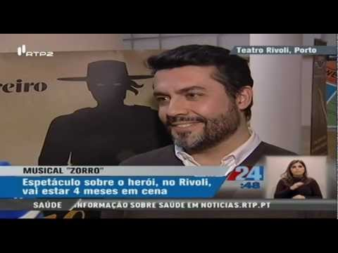 Estreia do Musical Zorro Portugal 24h RTP2