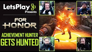 For Honor: Achievement Hunter Gets Hunted -The Shinobi VS. Centurion | Let's Play Presents | Ubisoft