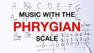 How To Make Music With The PHRYGIAN Scale On Guitar