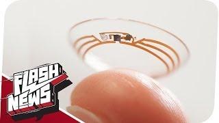 Intelligente Kontaktlinse & der RedTube-Betrug! - FLASH NEWS
